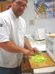 Picture of Culinary Arts chef Garth Clingingsmith